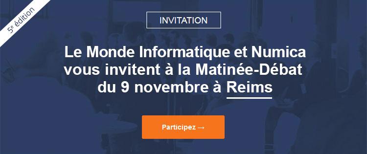 Le Monde Informatique vous invite à ses matinées-débats en région. Retours d'expériences - Veille technologique - Networking